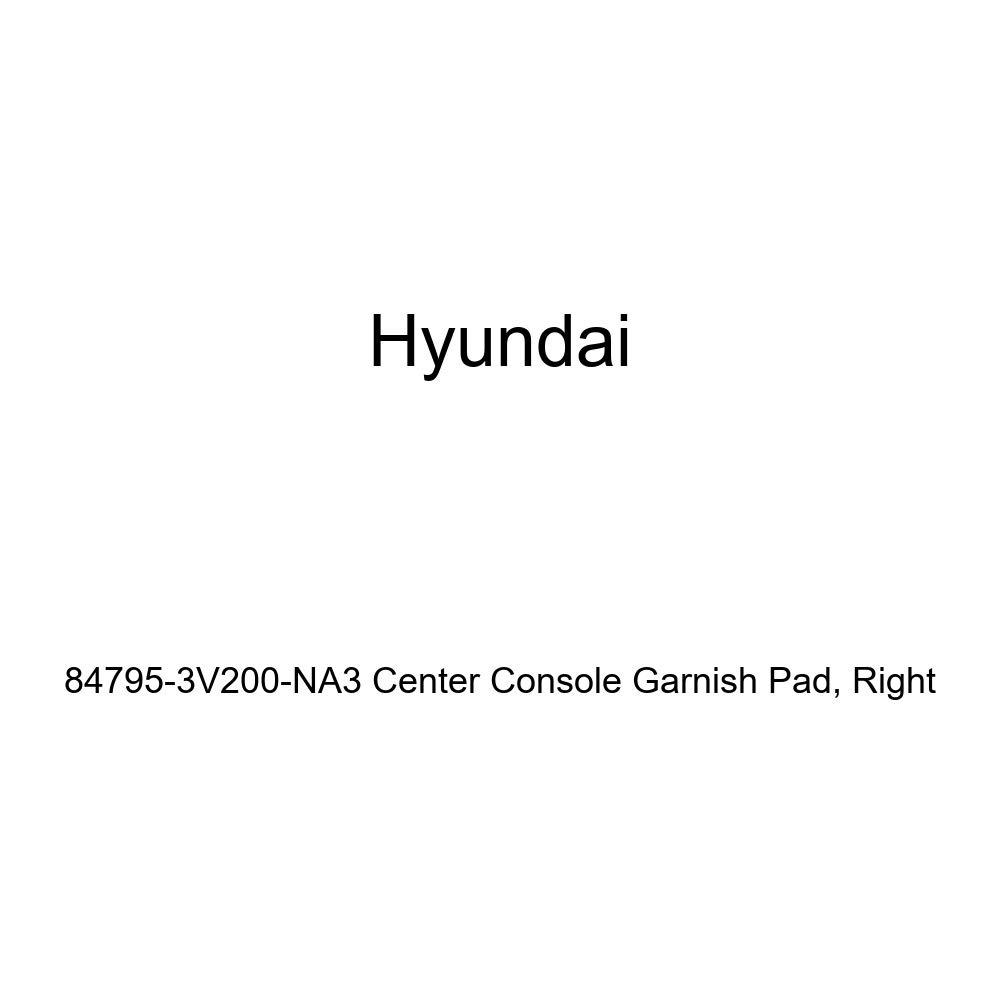Genuine Hyundai 84795-3V200-NA3 Center Console Garnish Pad Right