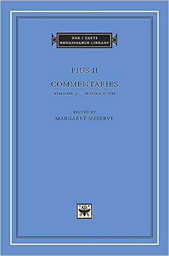 VII Commentaries Volume 3 Books V