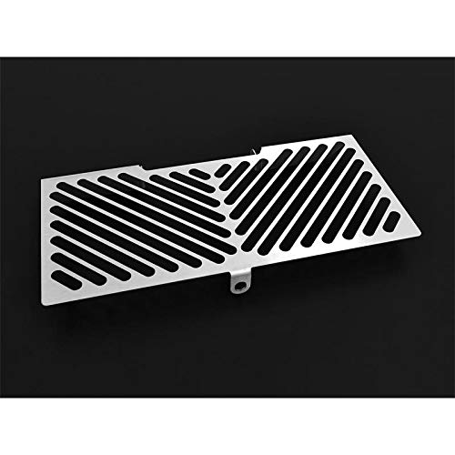 IBEX 10004752 Radiator Cover Water Cooler Grille Radiator Guard Radiator Cover Silver IBEX Logo: