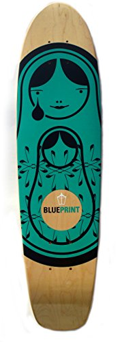 フリル悩み証人Blueprint Skateboards Matryoshka Cruiser Deck (7.5-Inch ) by Blueprint Skateboards