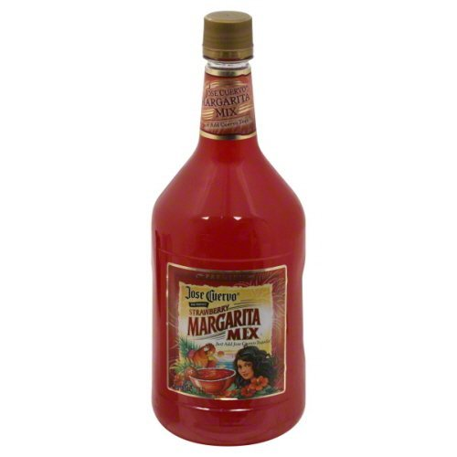 Jose Cuervo Original Strawberry Lime Margarita Mix 59.2 oz - Pack of 6 (Jose Cuervo Strawberry Margarita)
