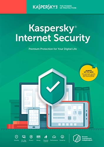 Kaspersky Internet Security 2018 | 3 Device | 1 Year [Key Code]