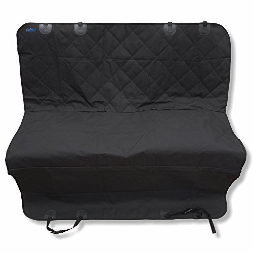 Seat Back Harness (Dog Seat Cover: BlizeTec Hammock Style Pet Back Seat Protector with Extra Safety Belt Harness; Nonslip & Waterproof; Universal Fit for Car, SUV and Mini Van)