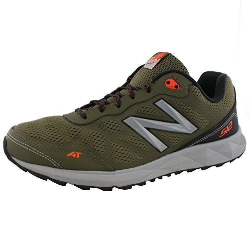 New-Balance-MTE512G1-Mens-Trail-Running-Shoes-10-4E-X-Wide-US-Olive