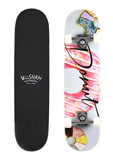 X Free Skateboards 31 Inches Complete Skateboards for Beginners (28) ()
