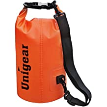 2L/5L/10L/20L/30L/40L 600D Dry Bag Sack, Waterproof Floating Dry Gear Bags for Boating, Kayaking, Fishing, Rafting, Swimming and Camping with Waterproof Phone Case