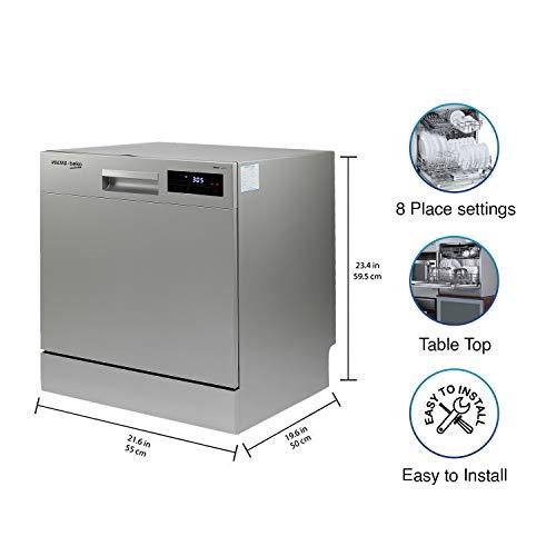 Voltas Beko Table Top Dishwasher DT8S with Inbuilt Heater