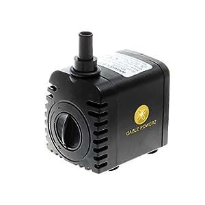 Amazon ultra quiet mini 600lh submersible water pump fountain indoor fountain pumps workwithnaturefo