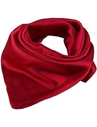 Women's Solid Color Square Scarf Neckerchief