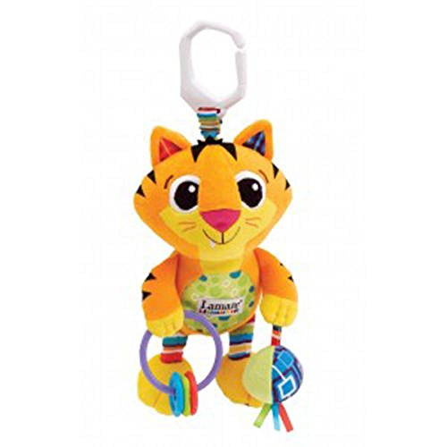 Lovely Kids 9 Styles Lamaze Developmental Plush Toy With Rattle Crinkle Bell Good For Kids (Tiger)