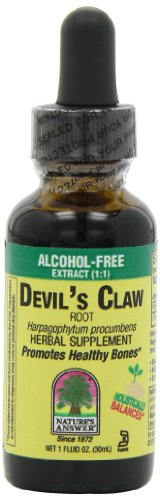 Nature's Answer Alcohol-Free Devil's Claw Root, 1-Fluid Ounces