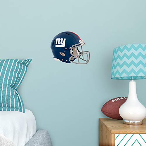 FATHEAD NFL New York Giants - Helmet Teammate- Officially Licensed Removable Wall Decal, Multicolor, Big
