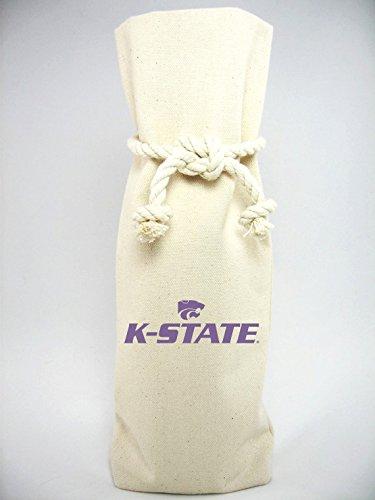 Kansas Stateキャンバスボトルトート B0178I31WA