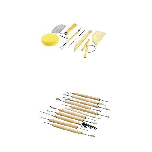 SE 4PT8 Pottery Tool Set (8 PC.) with Tools