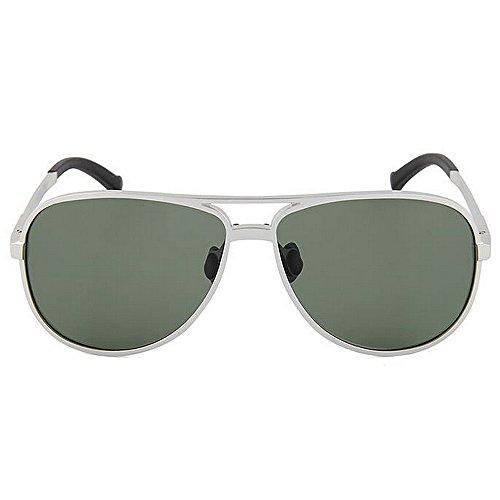 Gafas Blue Color Sol Aviador Colores polarizadas Hombre 400 de para Yxsd SunglassesMAN Protección UV para Mujer la de Green del UwzTA5qx