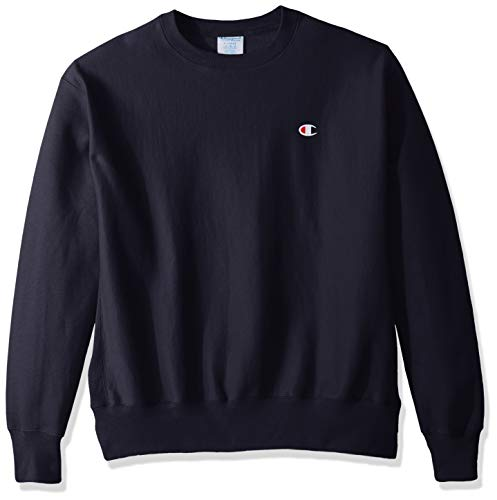- Champion LIFE Men's Reverse Weave Sweatshirt,Navy/Left Chest
