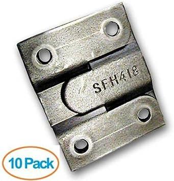 Interlocking Flush Mount 10 Pack