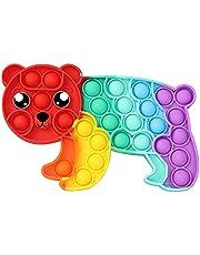 LULE Pop Bubble sensory Fidget Toy, Squeeze Sensory Toy, Silicone Stress Reliever Toy, autism Special Needs Stress Reliever dla dzieci i dorosłych