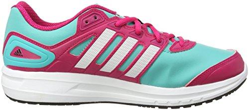 adidas Duramo 6 Syn K - Zapatillas para hombre, color azul / rosa, talla 39 1/3