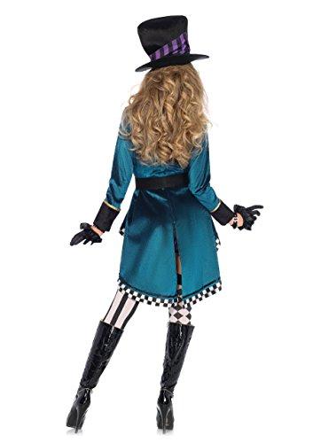 Leg Avenue Women's Delightful Hatter Costume, Multi, Medium by Leg Avenue (Image #2)