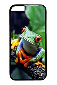 Beautiful Frog Custom iphone 6 plus 5.5inch Case Cover Polycarbonate black