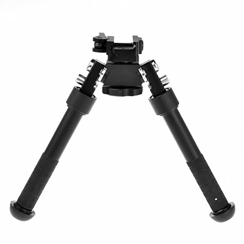 CVLIFE 6.5 to 9 Inches Tactical Rifle Bipod with 360 Degree Swivel Quick Release Picatinny (Ar 15 Vertical Foregrip)