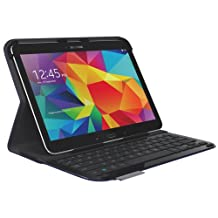 Logitech 920-006918 Ultrathin Keyboard Folio for Samsung Galaxy Tab 4 10.1 (Dark Blue)