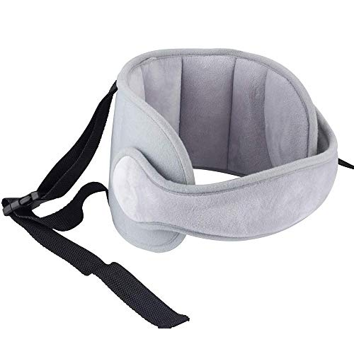 Luchild Kindersitz Kopfstütze,Kopfhalterung & sicherer Kinder Kopfschutz – Autokindersitz Kopfband & Stirnband Kopfhalter zur sicheren Kopf Fixierung beim Schlafen im Kinderautositz Neu