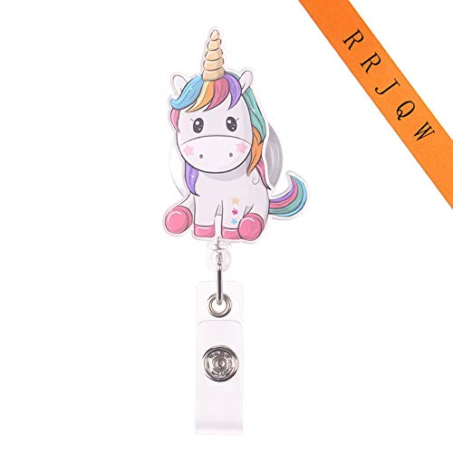Best nurse name tag retractable clips unicorn list