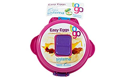 Sistema 9.16-Ounce Easy Eggs To Go