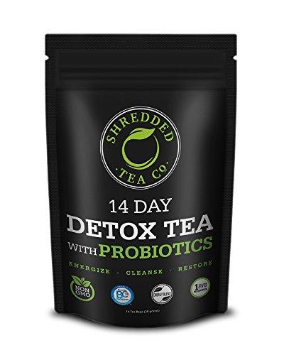 Shredded Tea Detox Probiotics Discomfort