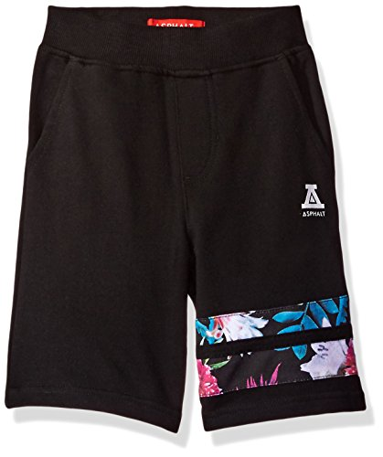 Asphalt Yacht Club Little Boys' Shorts, Floral/Black, 5
