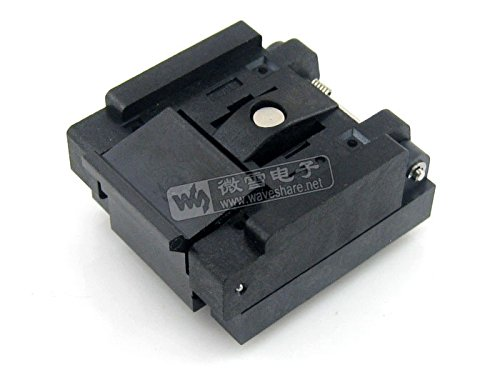 pzsmocn Test&Burn-in Socket QFN-48(56) BT-0.5-01 Enplas IC Test & Burn-in Socket, for QFN48, MLP48, MLF48 package Pitch: 0.5 mm by pzsmocn