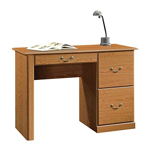 Sauder Orchard Hills Computer Desk, Carolina Oak - Small Cheap Computer Desk