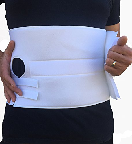 Alpha Medical Stoma Support Ostomy Hernia Belt-Med Length