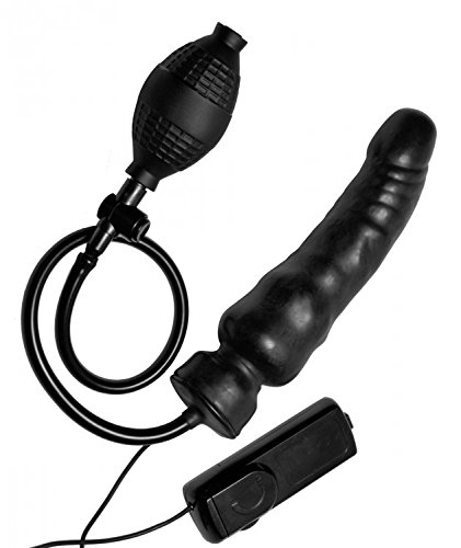 Master Series Ravage Vibrating Inflatable Dildo by Master Series
