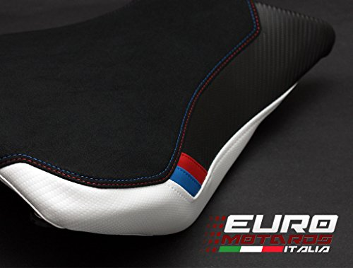 BMW S1000RR 2015-2017 Luimoto Motorsports Suede Seat Cover Set Front & Rear + Gel Pad by Luimoto (Image #4)
