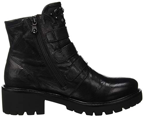 Monaco Nero Black Boots Ankle Women's 100 T Black Dallas Giardini YrPxPwE8