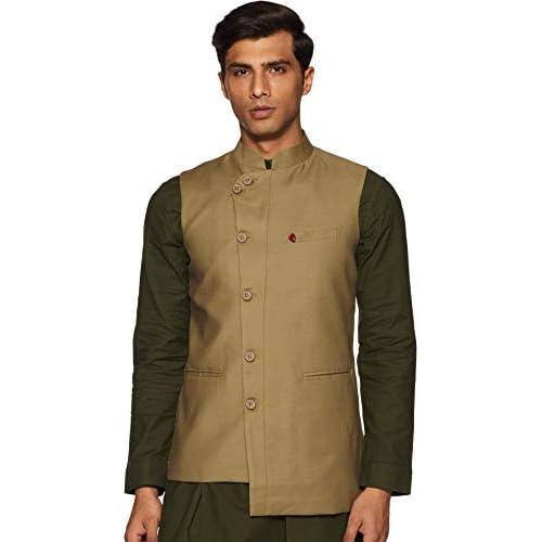 41JaL05XS8L. SS500  - The Indian Garage Co Men's cotton Waist Coat