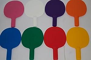 4 stabile Kunststoff-Tischtennisschläger/Auktion/Spiel/Pingpong-Schläger,...