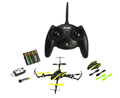 Ready to Fly - Horizon Hobby Blade Nano QX RTF Quadcopter With Bonus Extra Battery Bundle