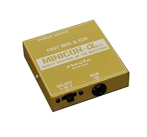 siecle (シエクル) サブコンピュータ【MINICON】レスポンスリングセット (ディーゼル車用) ミツビシ デリカD:5 CV1W MINICON-R4FS B01M1BXVKR MINICON/ディーゼル車用 ミツビシ デリカD:5 CV1W/レスポンスリングセット  MINICON/ディーゼル車用
