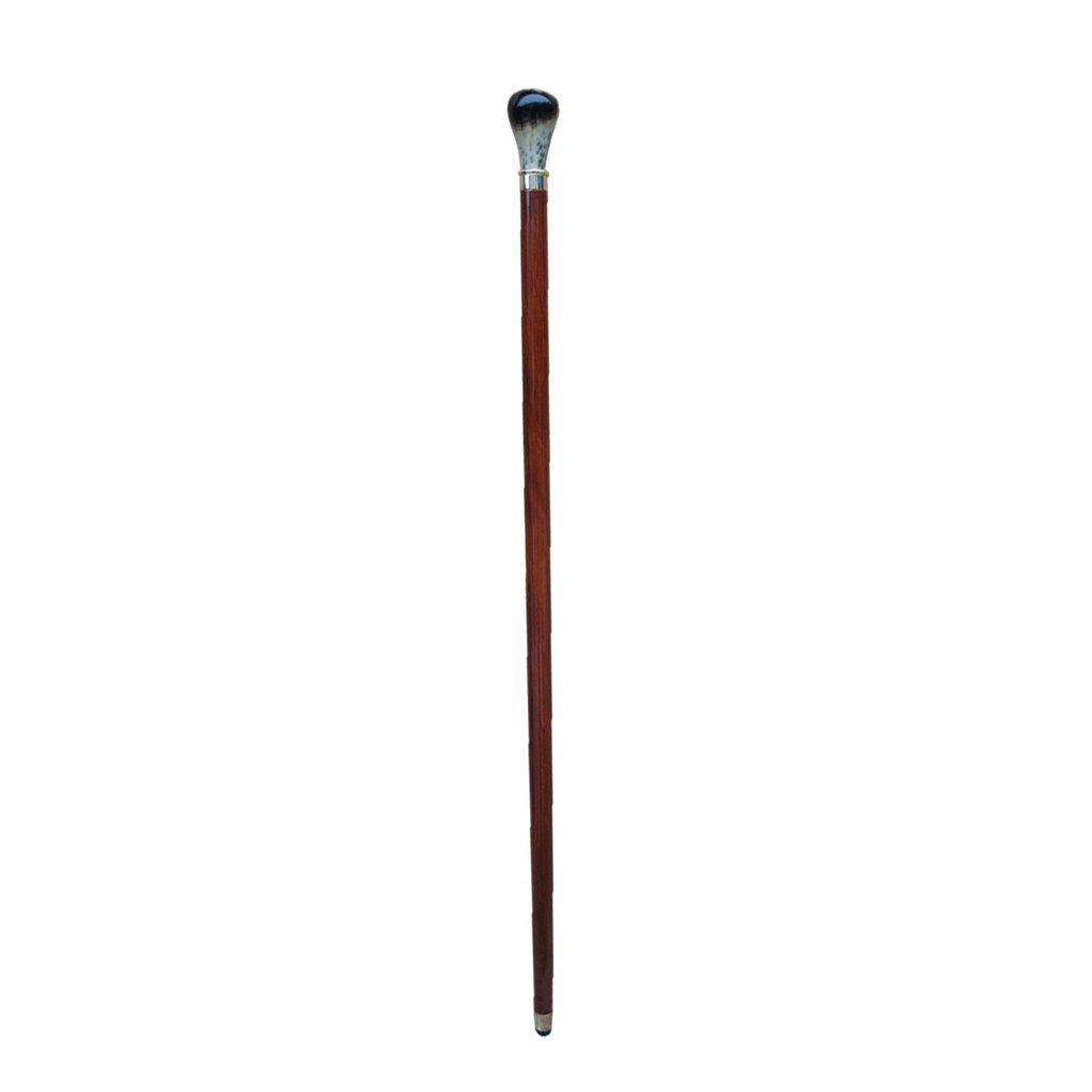 ケネスラウンドヘッドケーン紳士ウォーキングスティック木製オールドマンウォーキングスティック B07F386S61