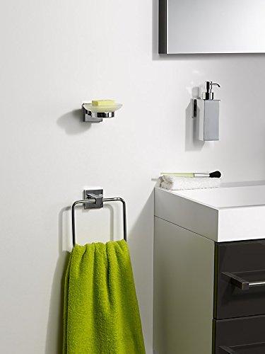 Haceka 28060110 mezzo colgador para toalla cromado for Colgador toalla bano
