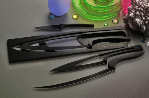 Deglon 4-Piece Non-Stick Coating Base Meeting Knives Set