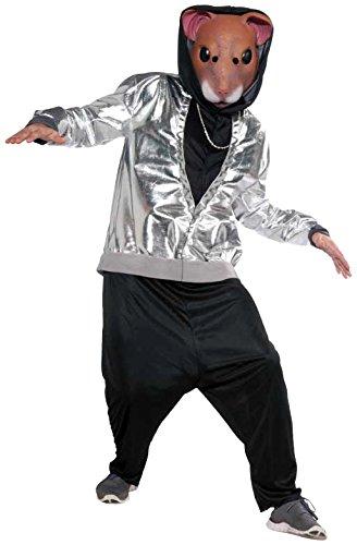 Forum Novelties Men's Hip Hop Hamsta Costume, Multi, One Size