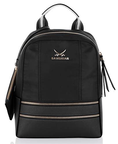 Sansibar Black Backpack Backpack Black Sansibar Sansibar UqwZxB6