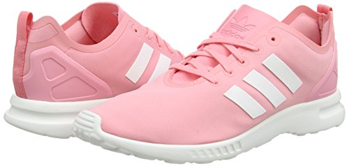 core Zx Adidas F15 Smooth Flux Femme White Pink Rose core Basses Black Baskets Originals Pop super 44wS7