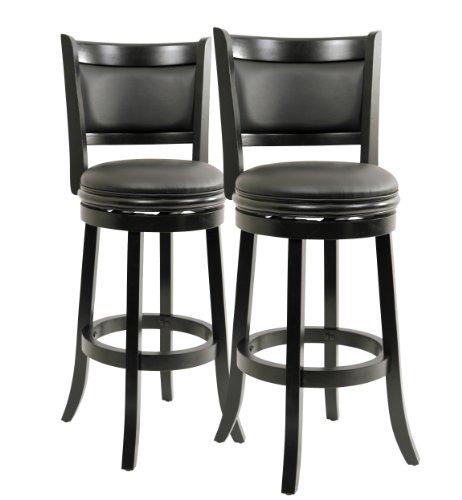 Amazon Com Boraam 5829 Augusta Bar Height Swivel Stool