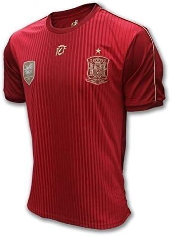 Selección Española. Camiseta Oficial Real Federación Española de Fútbol. Talla M: Amazon.es: Deportes y aire libre